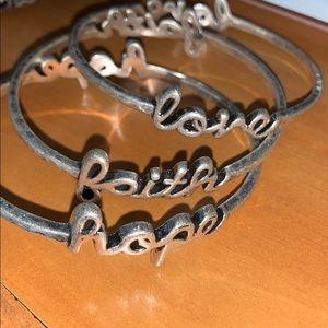 3 set of bracelets